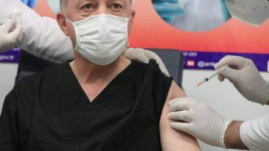 Photo of بالصور: أردوغان يتلقى اللقاح