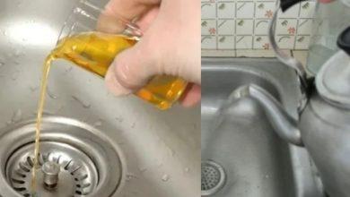 Photo of لماذا عليكم صب كوب من الزيت في حوض المطبخ؟